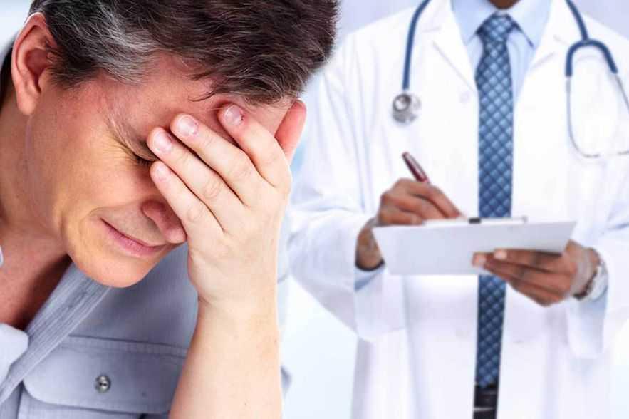 Dores de cabeça após um acidente