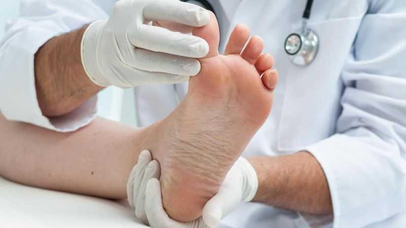 Problemas do pé