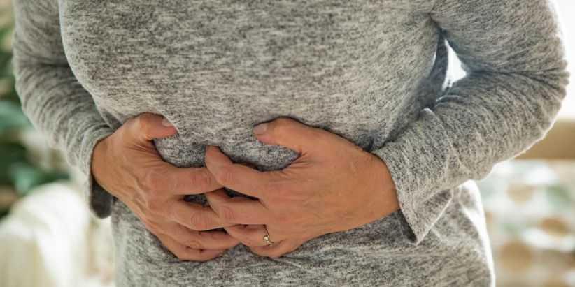 Razões de contração do estômago, causas, sintomas
