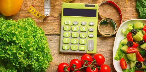 Contagem de calorias (comida e atividade) e efeito no peso corporal