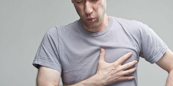 Dor no peito do coração