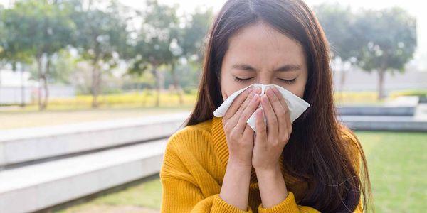 alergia e irritação no nariz causam prevenção do tratamento dos sintomas