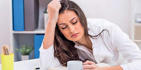 causas e cansaço do cansaço do meio-dia