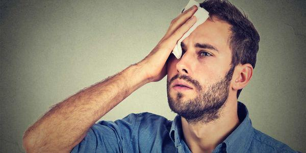 causas suor costas suor e remédios