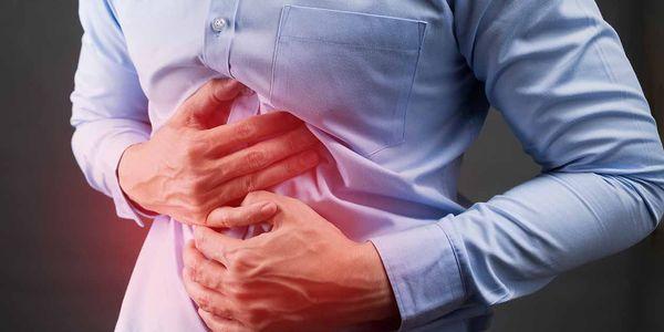 diarréia de intestinos chateado cólicas causadas por dor de gás
