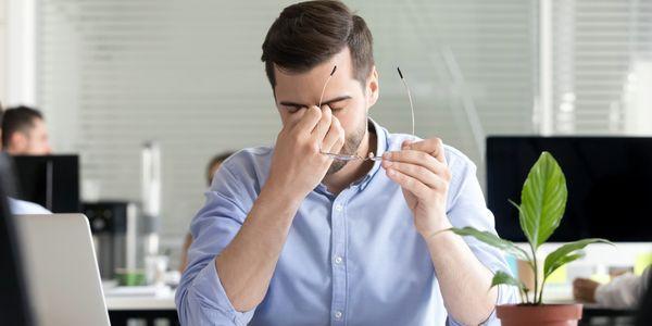 evite a fadiga ocular de telas leves e leitura