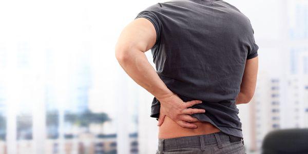 localização e sintomas da dor na próstata