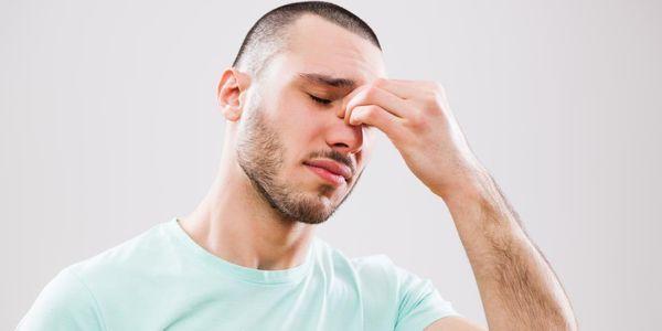 pressão cefaléia cérebro sinusite hipertensão ocular barométrica